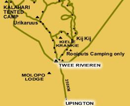 Tour 6: Kgalagadi Transfrontier Park 6 Days Tour