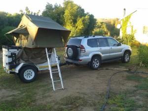 Kgalagadi Camping Tours | Prado 4x4