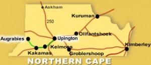 Tour 1 Map | Kalahari Safaris | Desert Explorers